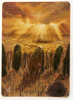 Plains II - Altered Magic Card by jheans