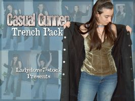 Casual Gunner Trench PACK 1 by themuseslibrary