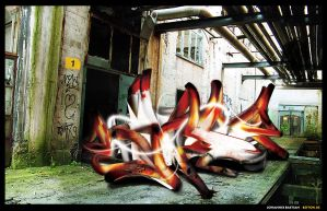 Planecrash Graffiti by Befton