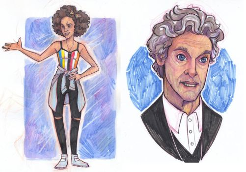 Bill and Twelve by sn0otchie