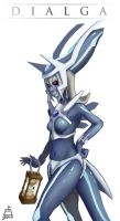 Dialga Girl by bernoully