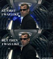 At First Wesker Was Like... by DragonKeeper333