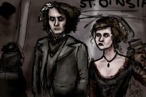 Sweeney Todd and Mrs. Lovett by Until-The-Dark