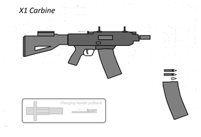 X1 Carbine by Artmarcus