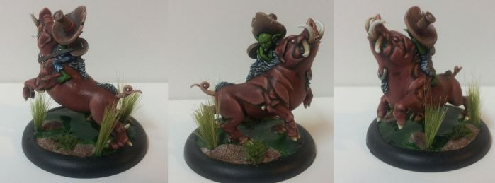 Malifaux: Pumba the War Pig by Prometheus023