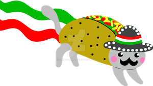 Mexican Taco Nyan by Shinri-san