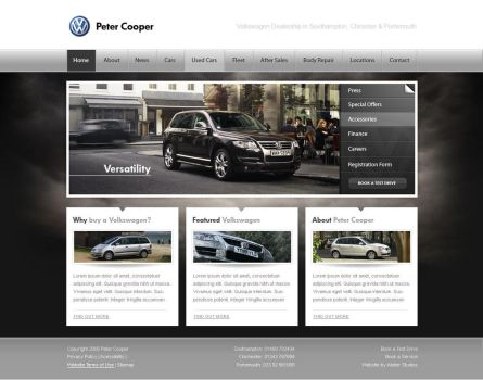 Peter Cooper: Design Concept by authenticstyle