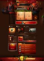 Fantasyonline - webdesign by webdesigner1921