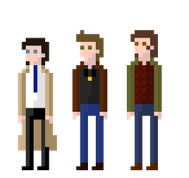 Team Free Will Pixels by ShinyStaraptor398