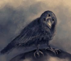 three-eyed crow by margaw