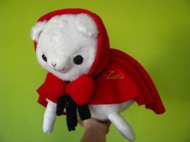 Little Red Riding Hood Alpaca by Zuota