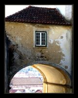 Leiria Old Window by FilipaGrilo
