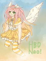 Happy birthday, Naodweeb by Kuimei