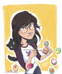 Flor easter eggs by Ichigoavalanche