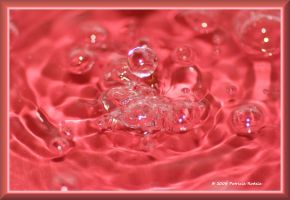 Droplets On Parade by PatriciaRodelaArtist