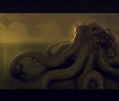 SteamPunk Octopus by DM7