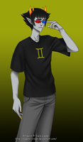 Homestuck - Sollux by Tagami-Crown