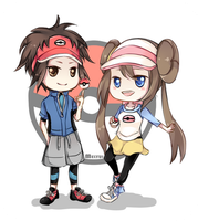 Pokemon BW2 by melyui