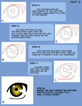 How to draw Naruto eyes pt2 by LilyArt2006