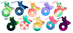 [CLOSED] Summer Pacapillars Set Price by toripng