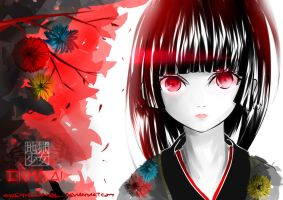 Jigoku Shoujo : Enma Ai by Yekugraphics