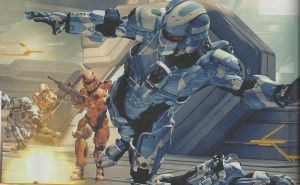 red vs blue halo 4 style by dragonlover030393