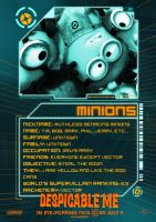 Minions Poster - Despicable Me by Alecx8