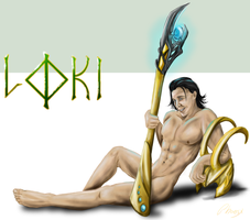 Stripped Down: Loki by Phoenix-Cry