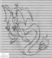 Old work of Charizard by Alma1129
