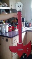 Marshall Lee's Bass Axe by SuicidalxEmbrace