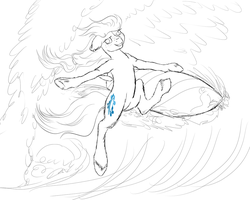 Surf dat wave WIP by Crazyaniknowit