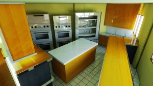 Cafe_view 2nd inside kitchen by oxide1xx
