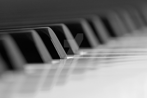 Piano Keys by iconsPhotography