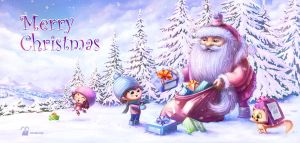 Merry Christmas and Happy New Year by krolone