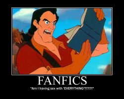 Gaston Reads Fanfics by LivingShadowDarkMark