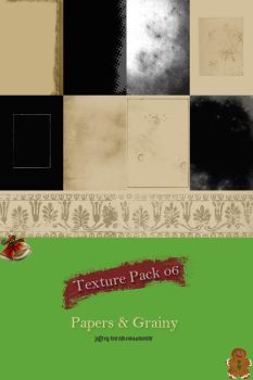Texture Pack 06 I Papers and Grainy by belle-liberte