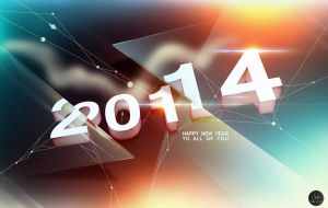 New Year 2014 by injured-eye