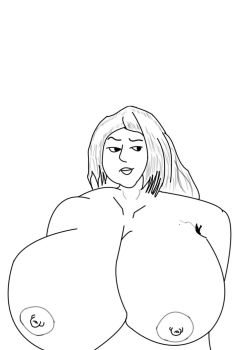 Big Boobs Girl Inked by Grigioinverno