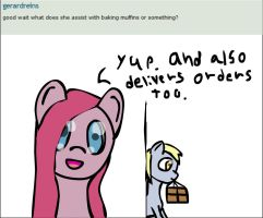 Ask Pinkamena things: Delivery by darksoma905