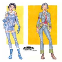 Ravenel Outfits by staino