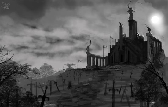 Temple of Victory by Halycon450
