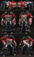 Custom Cyberverse Optimus Prime by Solrac333