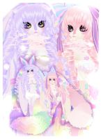 Twin Dollybunnie sis by Teruchan