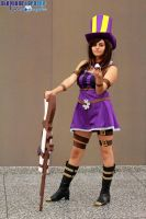 LoL : Caitlyn The Sheriff of Piltover Cosplay by Cloudy-Seara