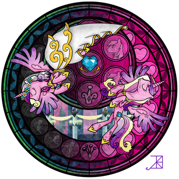 Stained Glass: This Day Aria by Akili-Amethyst