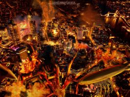 Hellsing: World On Fire by vendixnosferatu