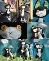 Gremble Plushie - Densetsugin - Contest Entry by Insane-Sanety