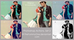 Photoshop Actions, Set 2 by TheYummyOne