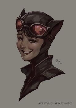 Catwoman by r-chie