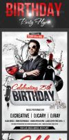 Birthday Party Flyer by creativeCary